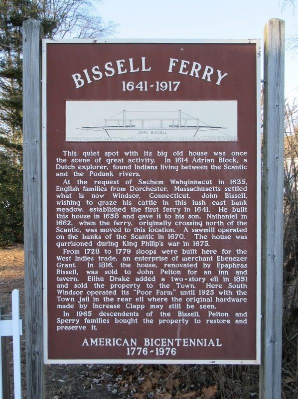 Bissell Ferry Marker image. Click for full size.