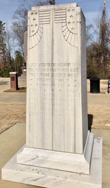 Fort Benning POW Memorial Marker image. Click for full size.