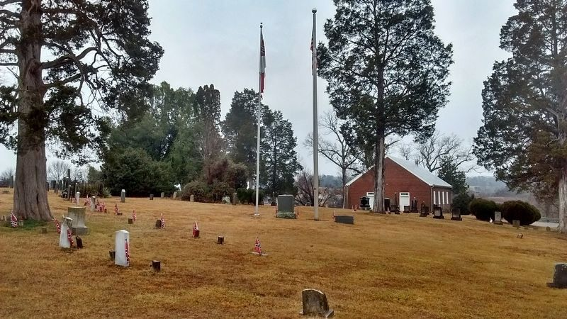 Bethesda Presbyterian Church Cemetery image. Click for full size.