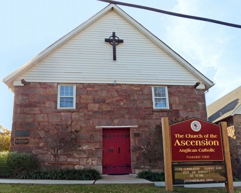 Centreville Methodist Church<br>Church of the Ascension image. Click for full size.