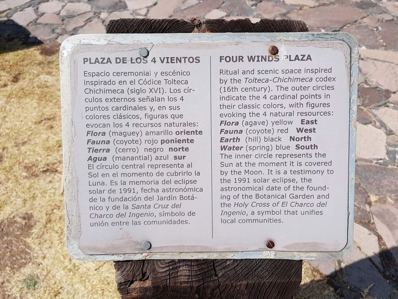 The nearby Four Winds Plaza marker image. Click for full size.