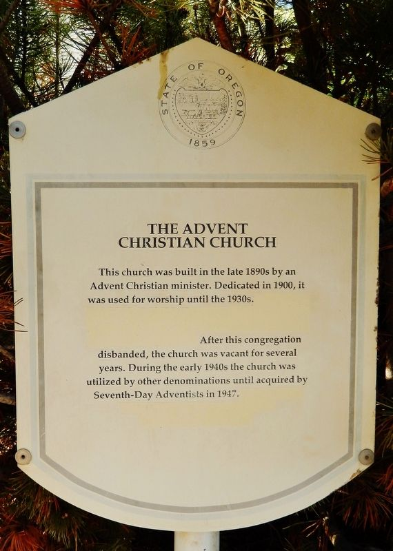 The Advent Christian Church Marker image. Click for full size.