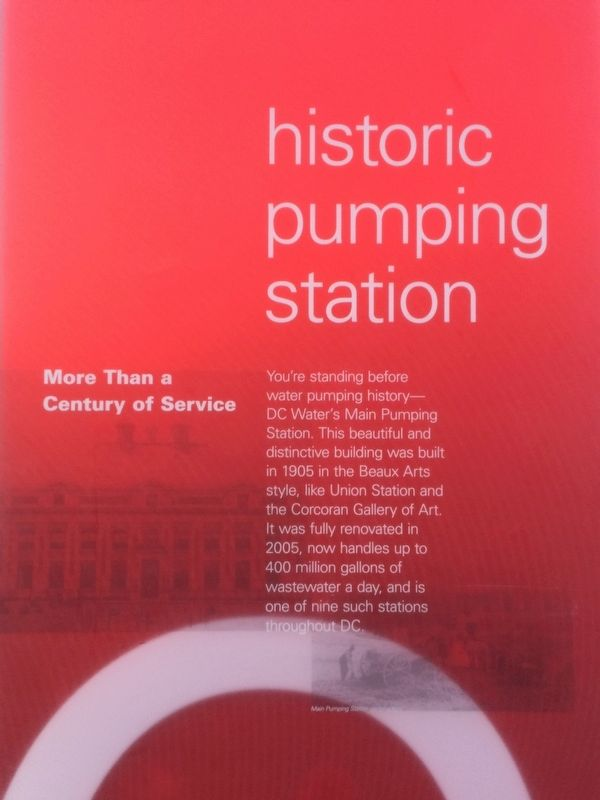 Historic Pumping Station Marker image. Click for full size.
