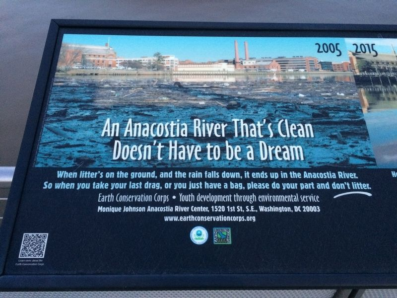 An Anacostia River That's Clean Doesn't Have to be a Dream Marker image. Click for full size.