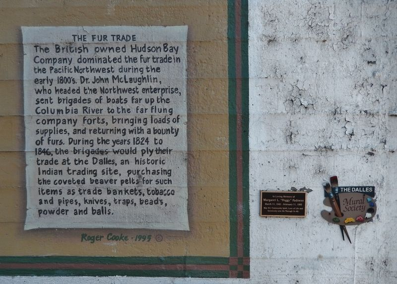The Fur Trade Marker (<i>wide view</i>) image. Click for full size.