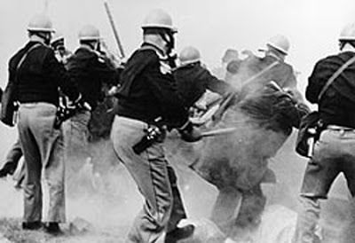'Bloody Sunday' Attack at Edmund Pettus Bridge / U.S. Congress Approves Voting Rights Act of 1965 marker image