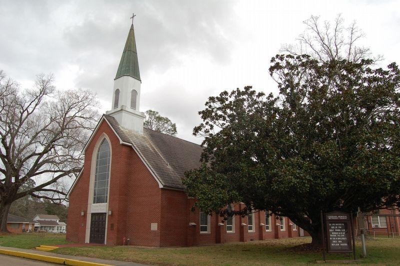 Louisiana Memorial Methodist Church image. Click for full size.