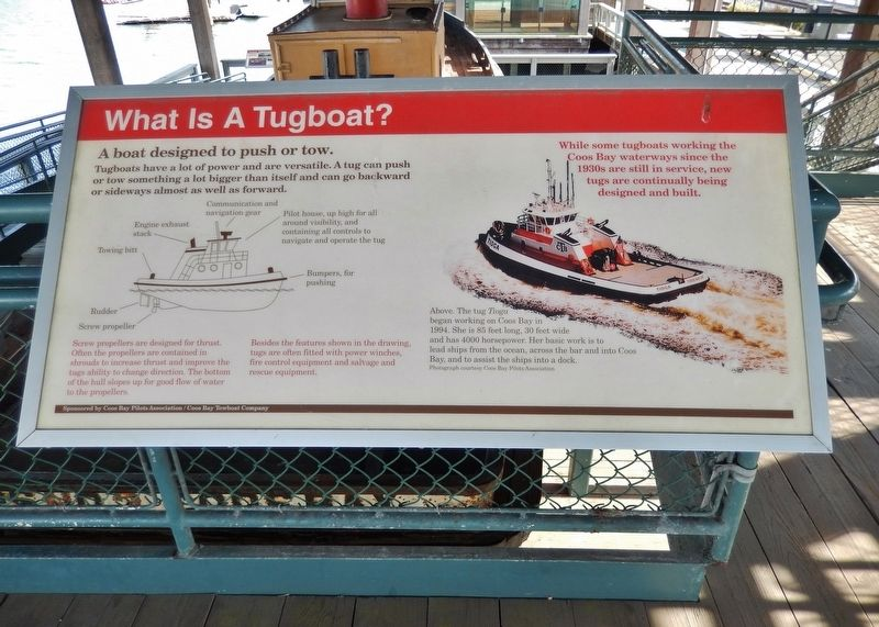 What is a Tugboat? Marker (<i>wide view</i>) image. Click for full size.