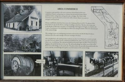 Area Commerce Marker image. Click for full size.