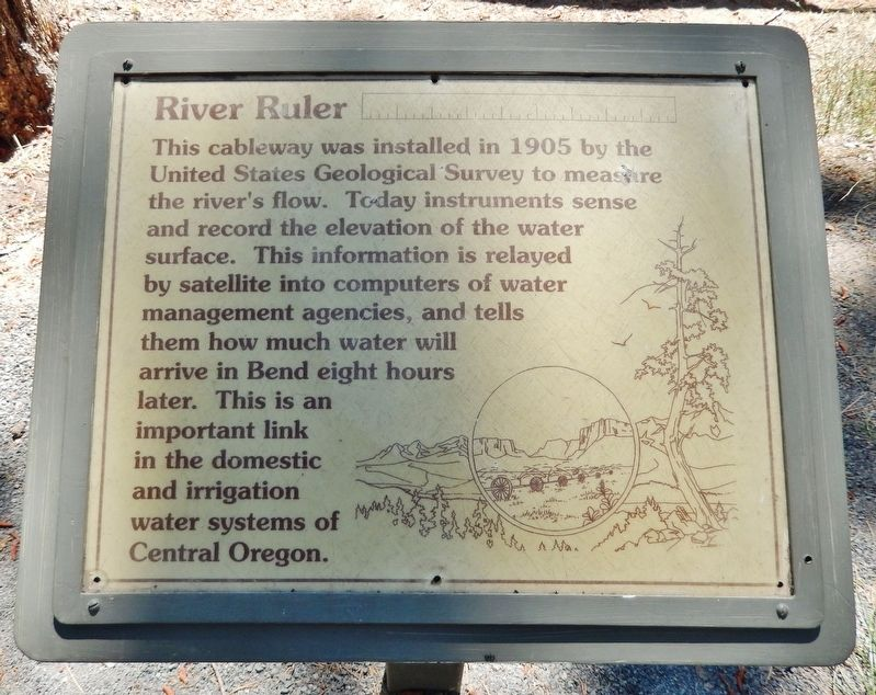 River Ruler Marker image. Click for full size.