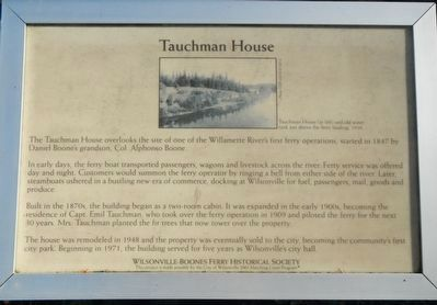 Tauchman House Marker image. Click for full size.