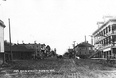 Main Street, Aurora image. Click for full size.