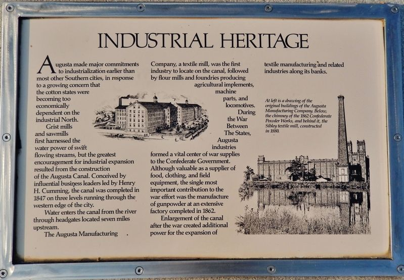 Industrial Heritage Marker image. Click for full size.