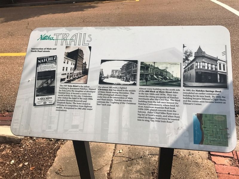 Intersection of Main and North Pearl streets Marker image. Click for full size.