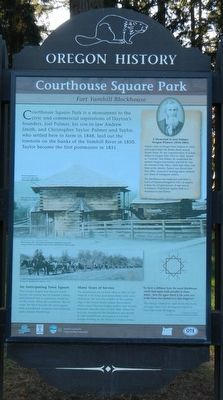 Courthouse Square Park Marker image. Click for full size.