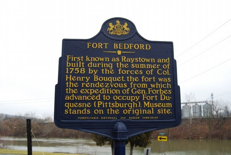 Fort Bedford Marker image. Click for full size.