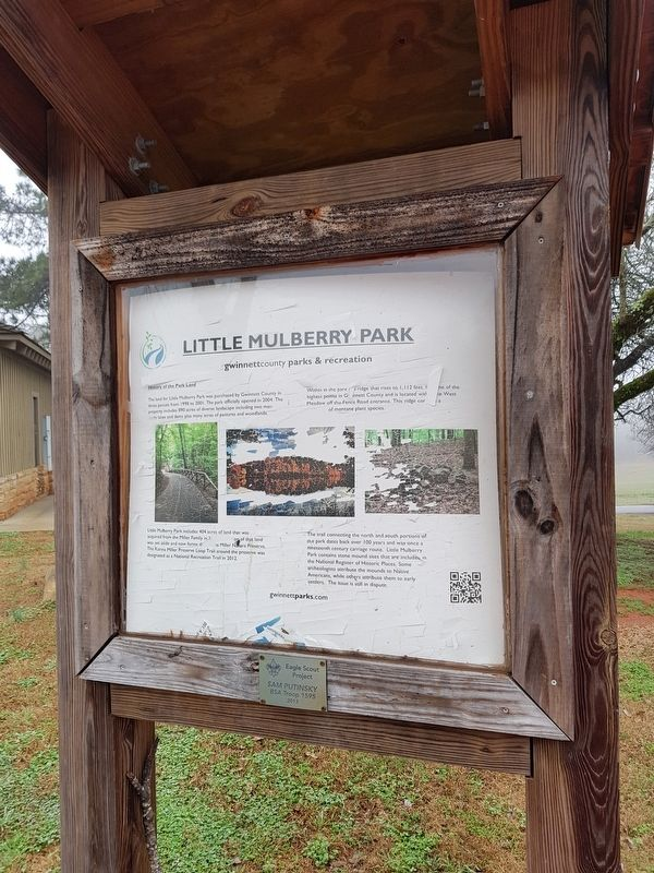 Little Mulberry Park Marker image. Click for full size.