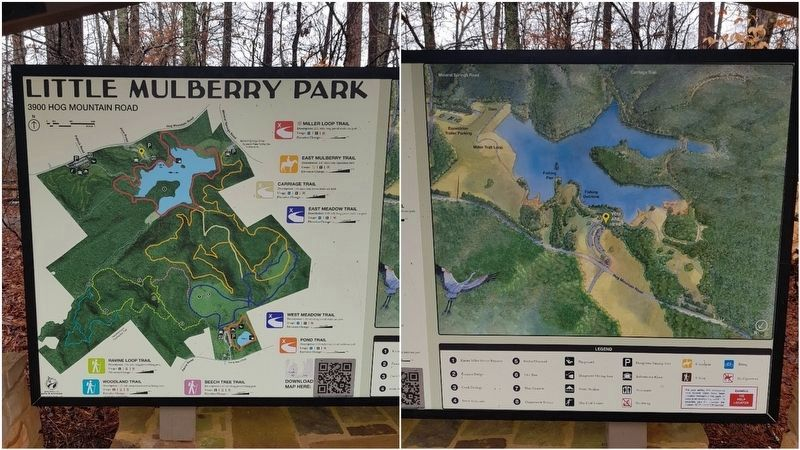 Little Mulberry Park map and key image. Click for full size.