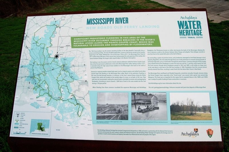 Mississippi River Marker image. Click for full size.
