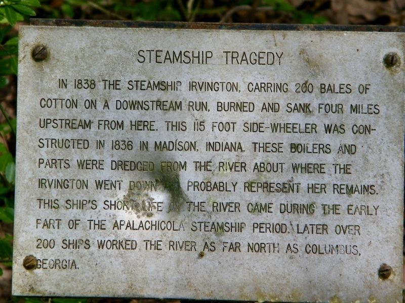 Steamship Tragedy Marker image. Click for full size.