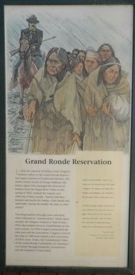 Grand Ronde Reservation panel image. Click for full size.