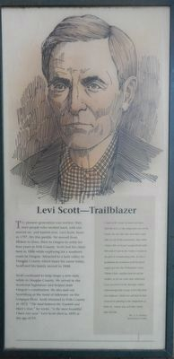 Levi Scott -- Trailblazer panel image. Click for full size.