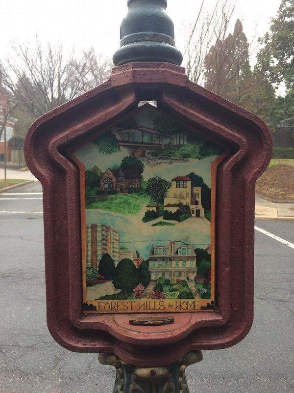 Forest Hills at Home Marker image. Click for full size.