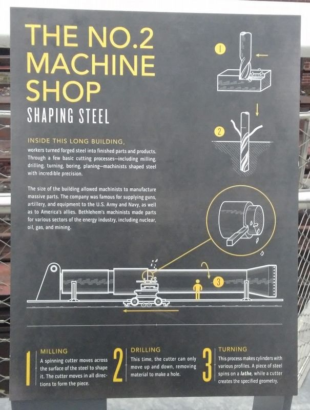 The No. 2 Machine Shop Marker image. Click for full size.