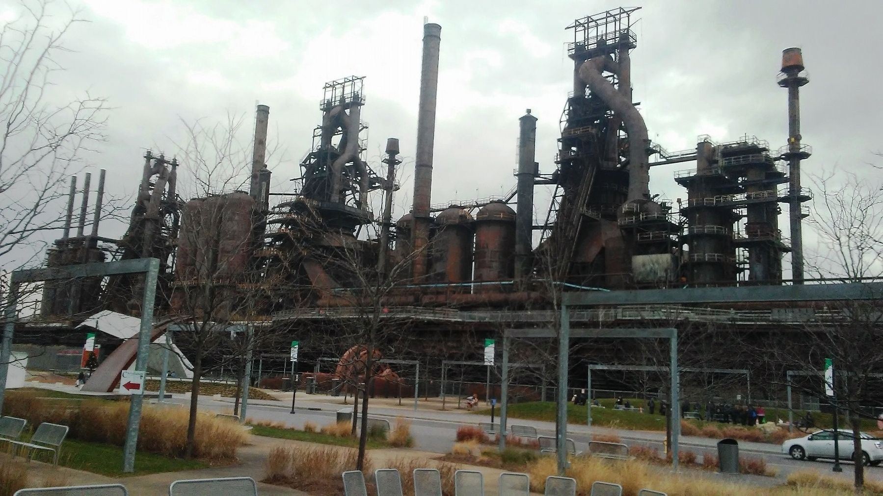 Former Bethlehem Steel Blast Furnaces image. Click for full size.