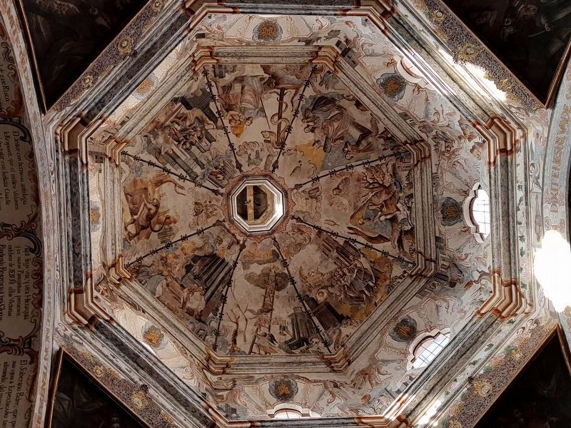 An interior dome at the Sanctuary of Jesus Nazarene of Atotonilco image. Click for full size.