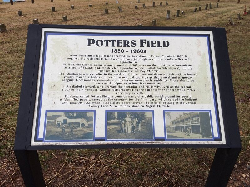 Potters Field Marker image. Click for full size.