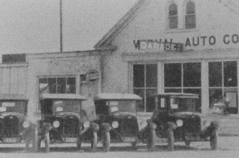 Marker detail: auto dealership image. Click for full size.