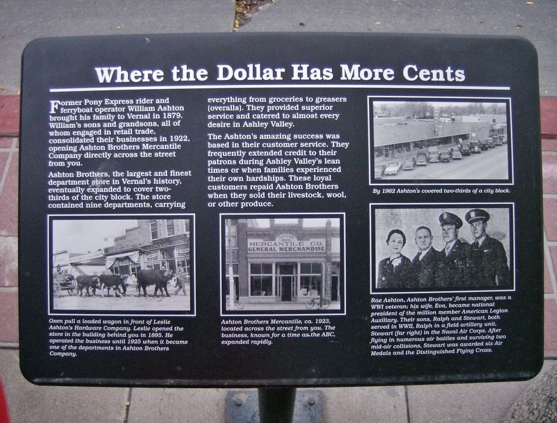 Where the Dollar has More Cents Marker image. Click for full size.