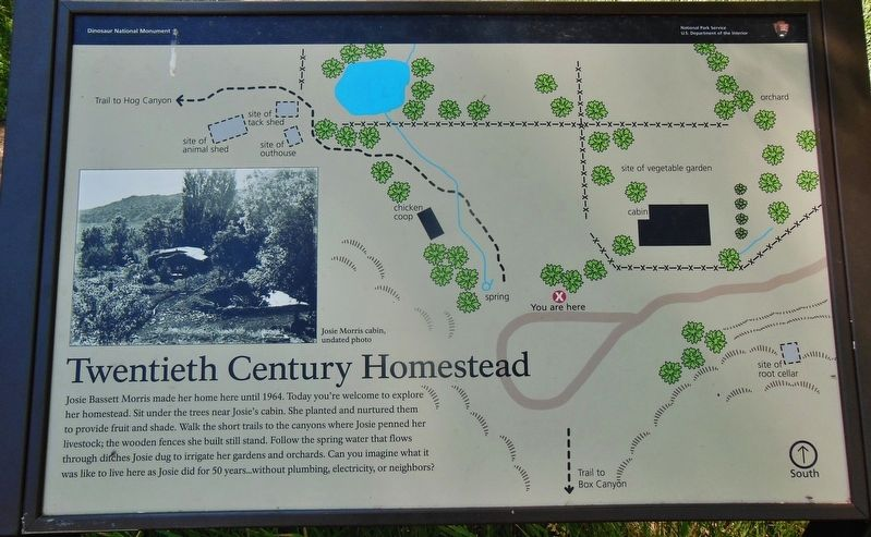 Twentieth Century Homestead Marker image. Click for full size.