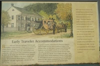 Early Traveler Accommodations Marker image. Click for full size.