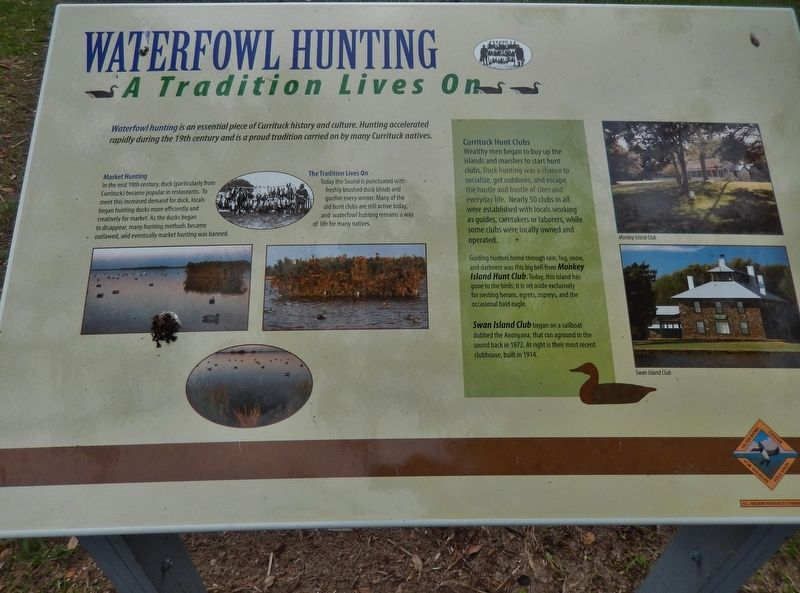 Waterfowl Hunting Marker image. Click for full size.