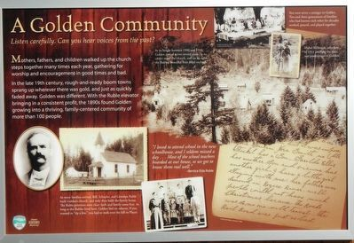 A Golden Community panel image. Click for full size.