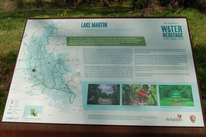 Lake Martin Marker image. Click for full size.