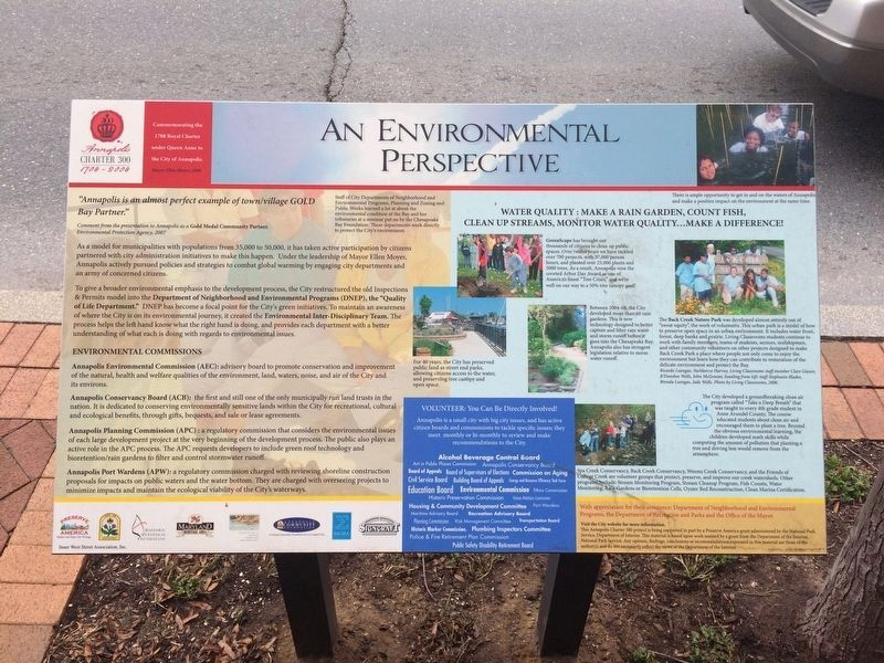 An Environmental Perspective Marker image. Click for full size.