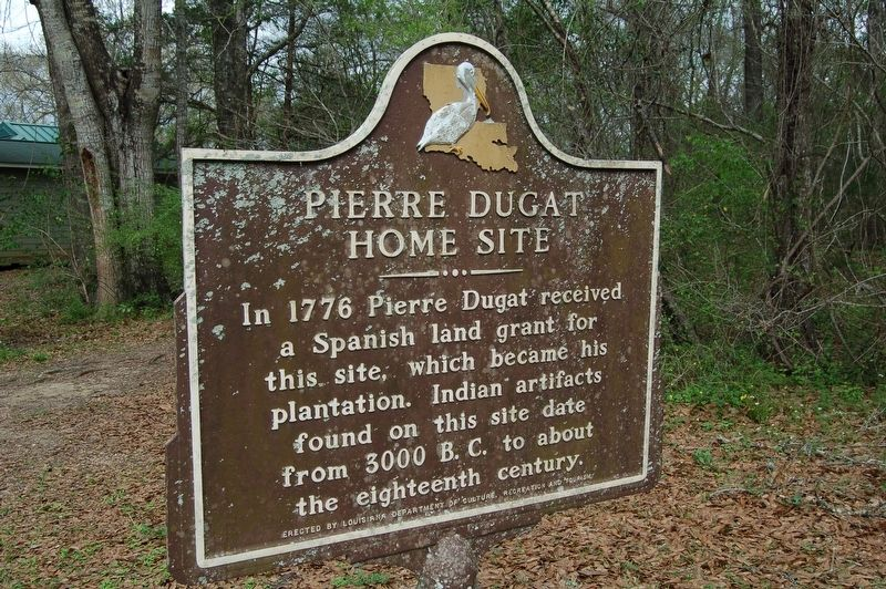 Pierre Dugat Home Site Marker image. Click for full size.