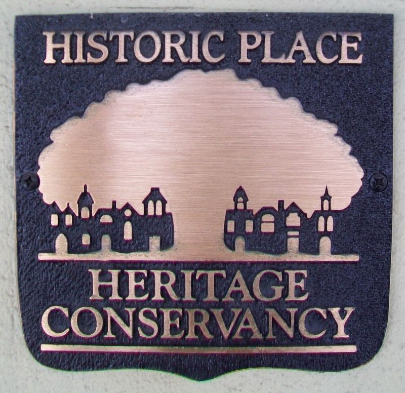 Former U.S. Post Office Heritage Marker image. Click for full size.