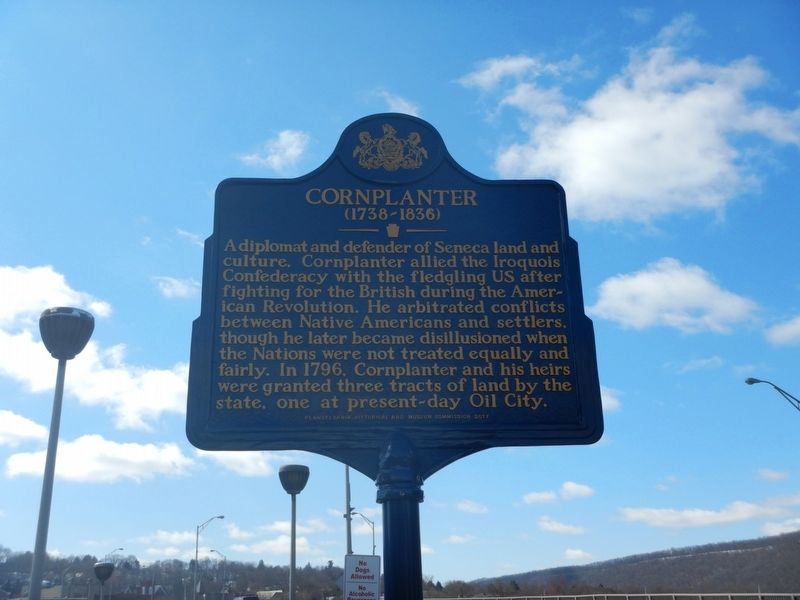 Cornplanter Marker image. Click for full size.