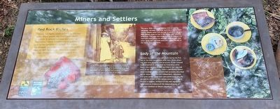 Miners and Settlers Marker image. Click for full size.