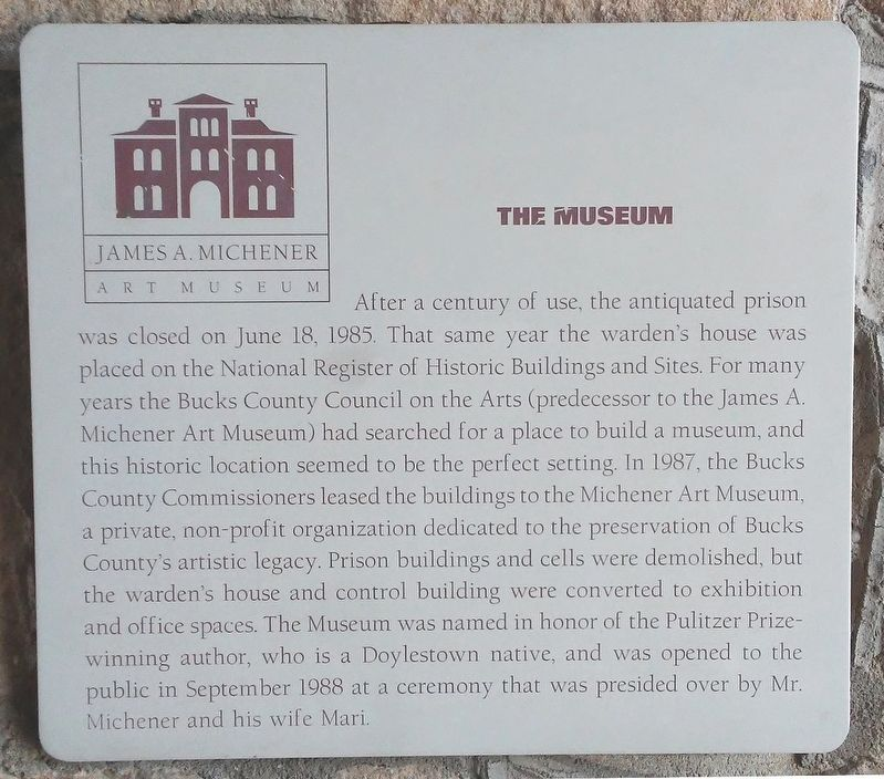 The Museum Marker image. Click for full size.