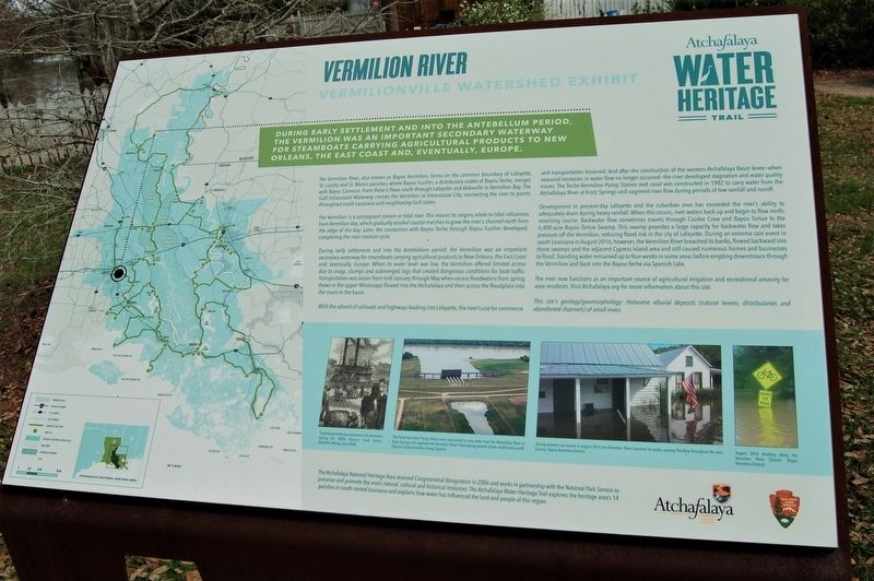 Vermilion River Marker image. Click for full size.