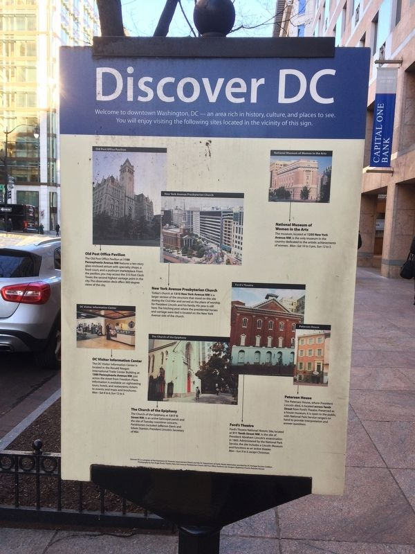 Discover DC / Metro Center Marker image. Click for full size.
