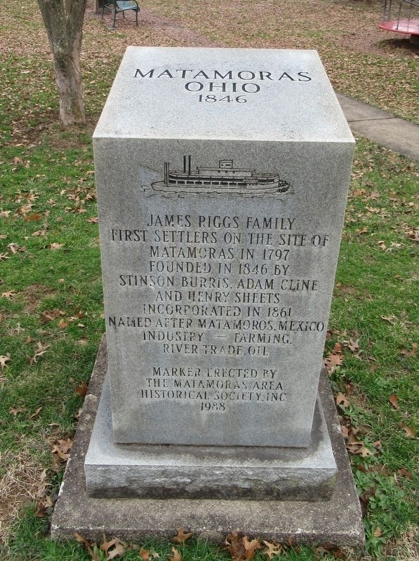 James Riggs Family Marker image. Click for full size.
