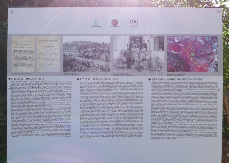 Research History of Ephesos Marker image. Click for full size.