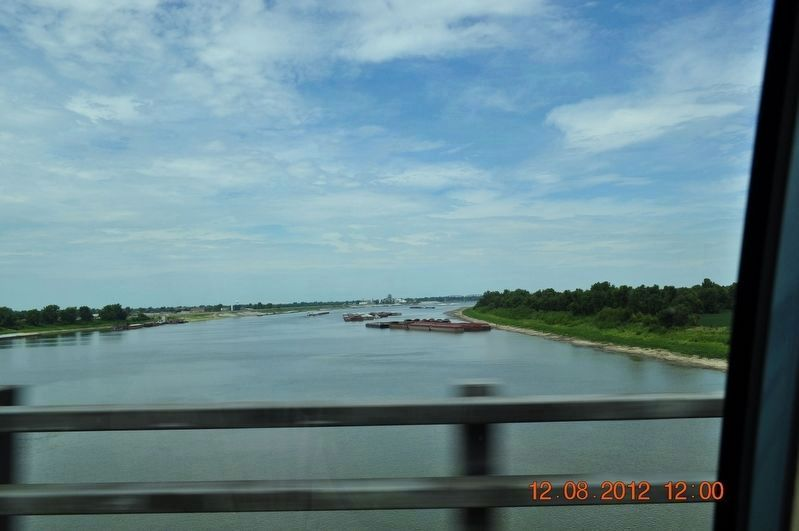 Crossing the Ohio River at Cairo, Illinois image. Click for full size.