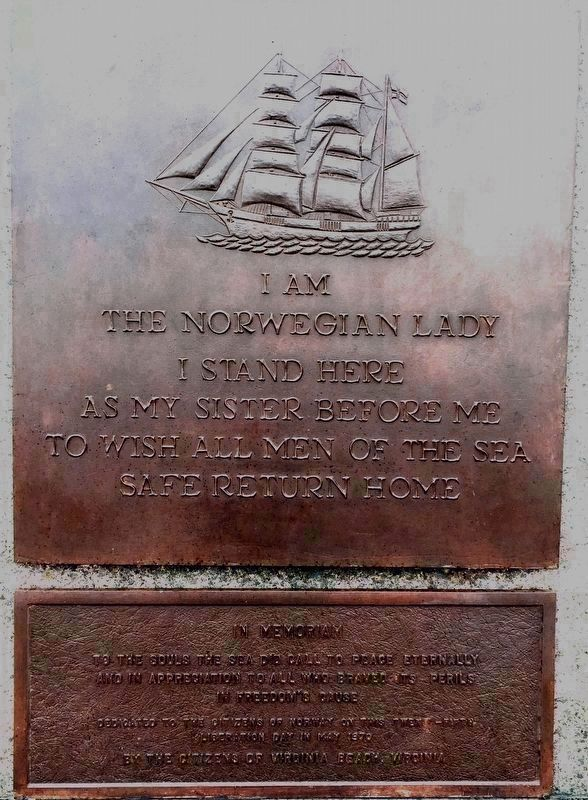 Norwegian Lady Memorial image. Click for full size.
